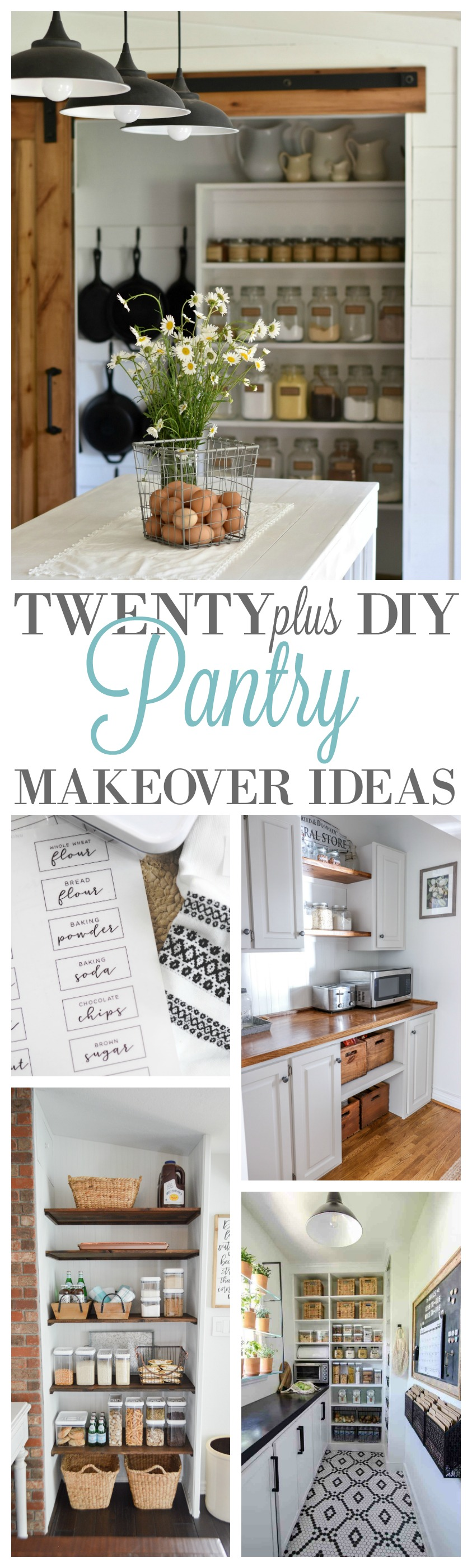 20 Diy Pantry Makeovers With Organizing Tips And Storage Ideas Fox Hollow Cottage