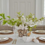 Cherry Blossom Cottage Farmhouse Easter Table