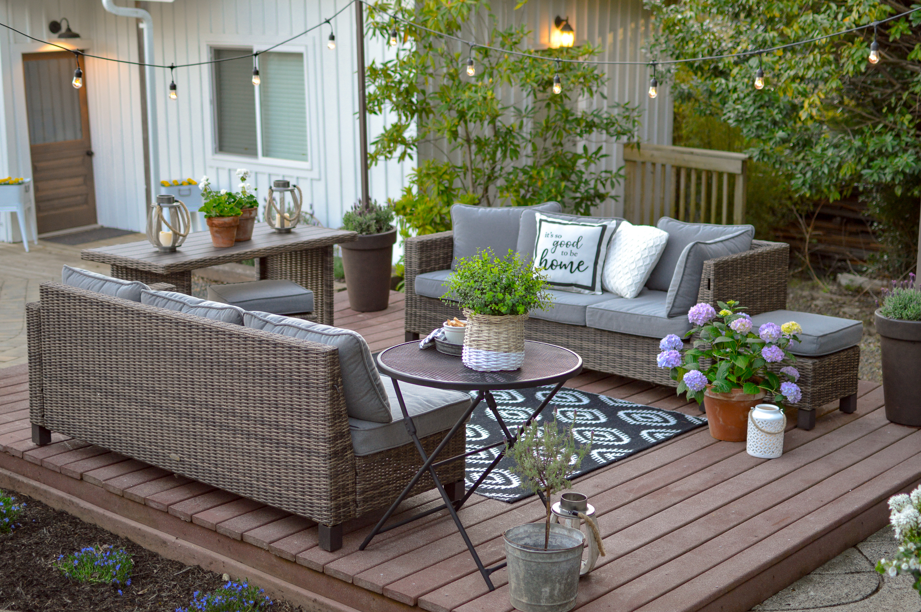 Simple Tips Ideas For Creating An Outdoor Room Fox Hollow Cottage