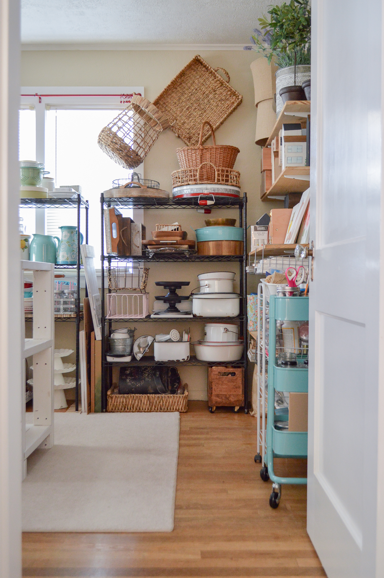 Purged Organized Home Decor Storage Room Tour Fox Hollow Cottage