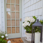 How To Paint A French Door Fast + Easy