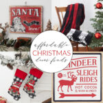 Affordable Buffalo Plaid Christmas Decor Finds