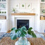 Style Showcase 65 | DIY Shiplap Fireplace, Fast Door Painting + More Home Ideas