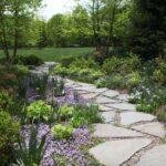 Pretty DIY Garden Path + Walkway Ideas